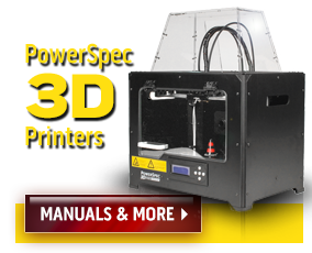pspcHERO3dPRINTER powerspec home page  at eliteediting.co